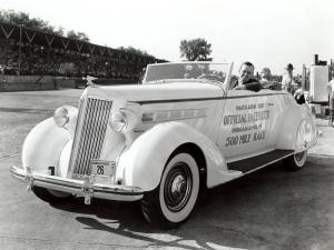 Packard 120 Convertible Coupe Indy 500 Pace Car 1936 года